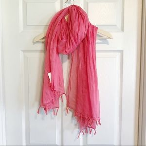 Accessories - NWT coral lightweight scarf